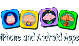 Click here for iPhone and Android apps and cuddly toys for kids